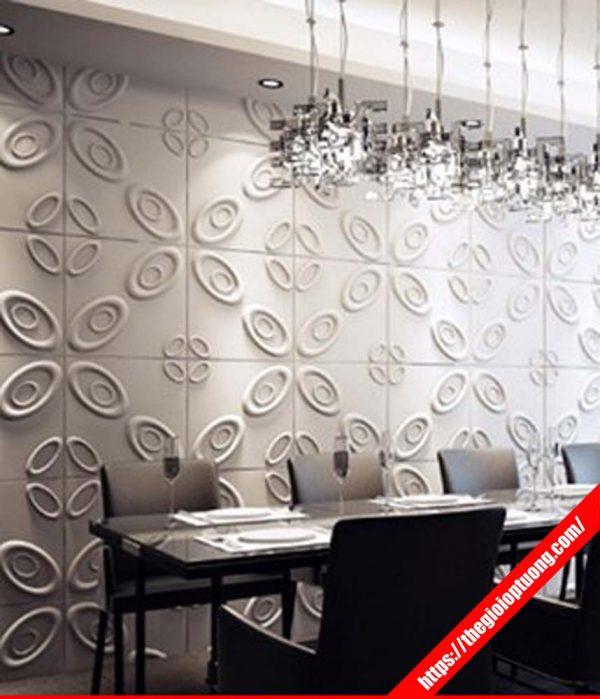 Tấm ốp tường 3d báo giá, Ốp tường nhựa đẹp phun màu tùy ý
