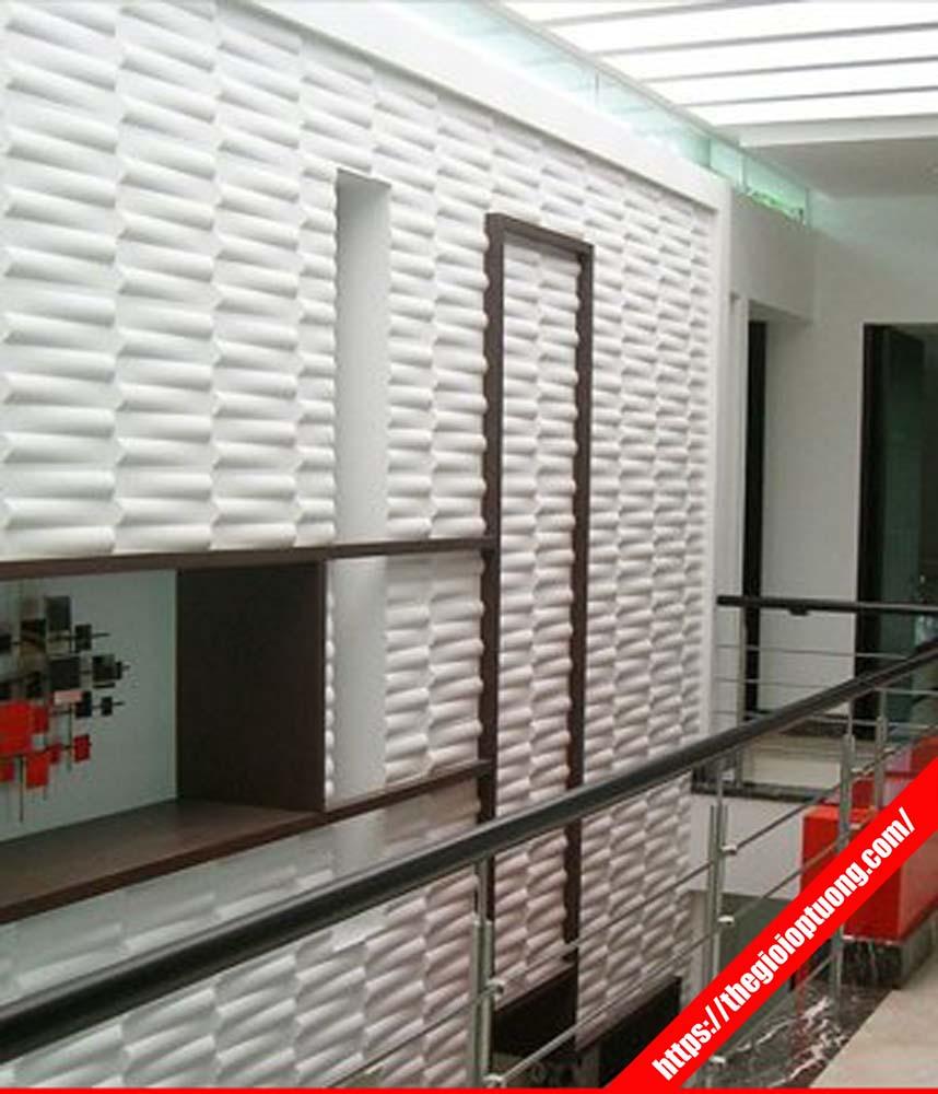 Hình Ảnh Tấm Ốp Tường 3d Nhựa Bamboo Wk51025