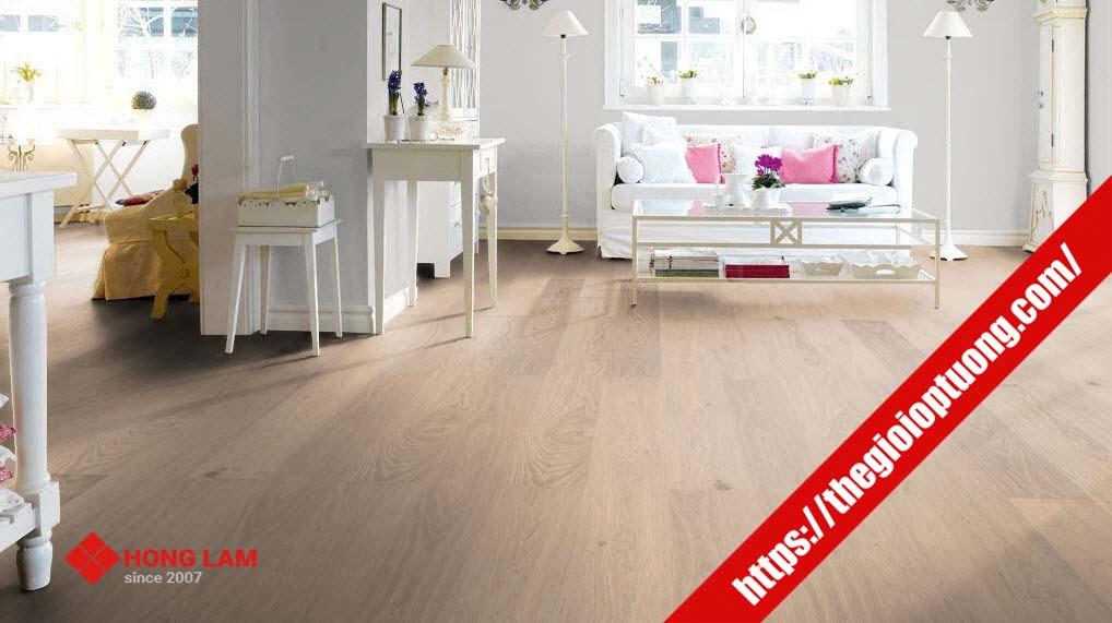 Sàn nhựa Hèm Khóa Solid Tile - Sàn nhựa giả gỗ Hàn Quốc