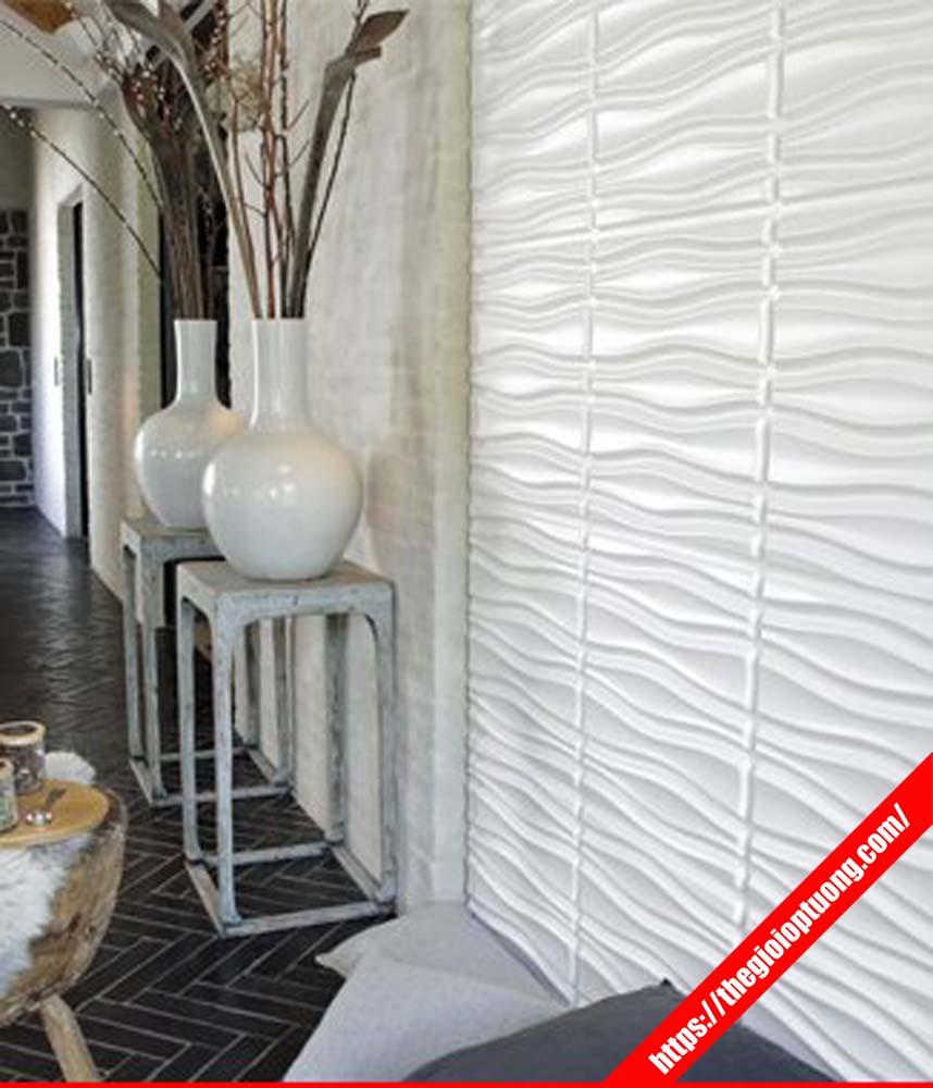 Tấm ốp tường 3d giá bao nhiêu, Thi công ốp tường nhựa cao cấp