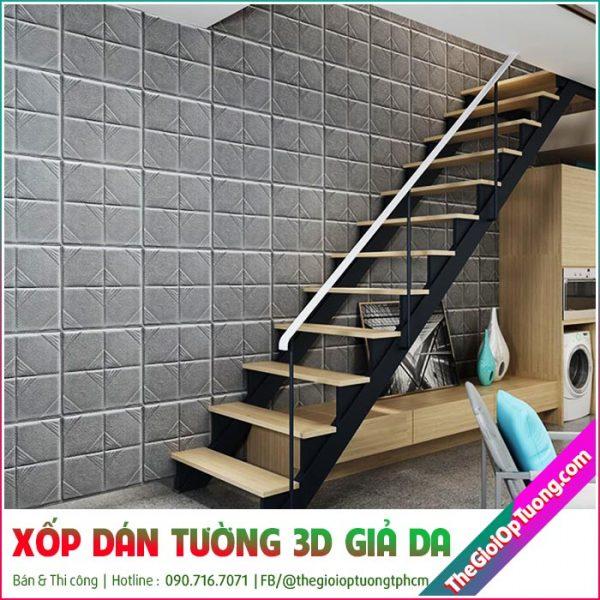 Thợ thi công xốp dán tường 3d tại tphcm, bình dương, mỹ tho, bến tre...