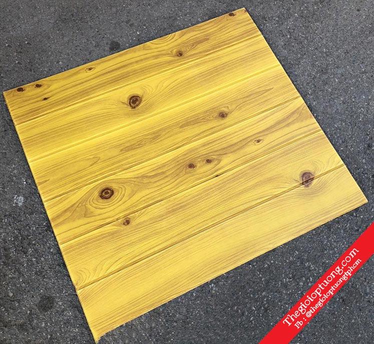 Xốp dán tường 3d giả gỗ giá bao nhiêu?