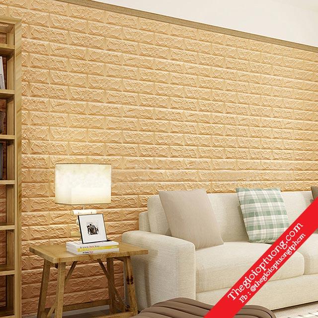 Xốp dán tường 3D : Ưu điểm tuyệt vời trang trí nhà ở hiện đại