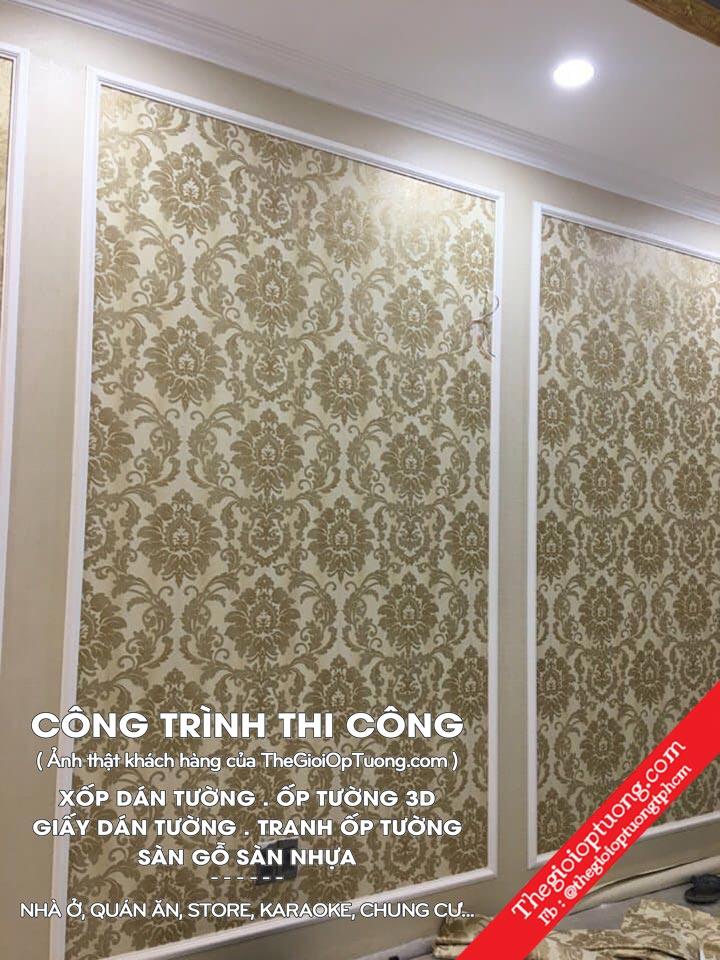 Thi công tấm ốp tường 3D │Dán tường đẹp - BAO GIÁ TOÀN QUỐC