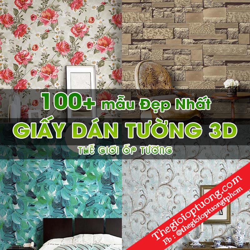 Mua Giấy Dán Tường 3D TPHCM │100+ mẫu đẹp nhất│TOÀN QUỐC