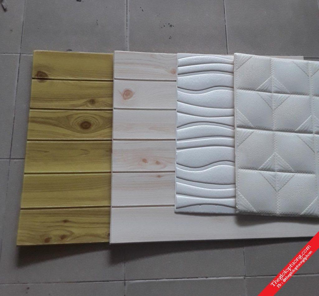 Mua xốp dán tường 3D giả gạch đá gỗ | CHỈ 39K - ThếGiớiỐpTường