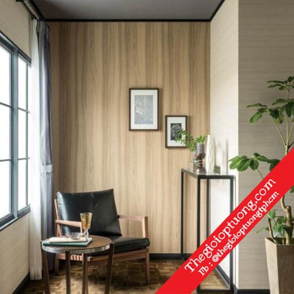 Các mẫu giấy dán tường giả gỗ mới nhất - giấy dán tường đẹp giá rẻ