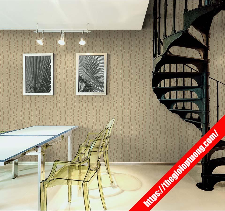 Mua giấy dán tường 3d phòng ăn , quán ăn - giấy dán tường cho quán trà sữa