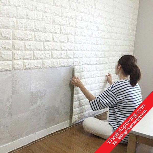 Mua xốp dán tường cách âm , xốp dán tường cho phòng bé