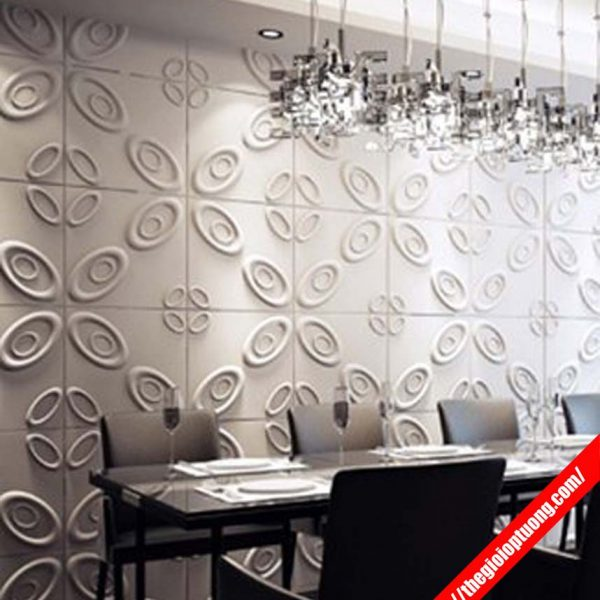 Nhận thi công tấm ốp tường 3D giá rẻ cho công trình, phòng khách, nhà ở