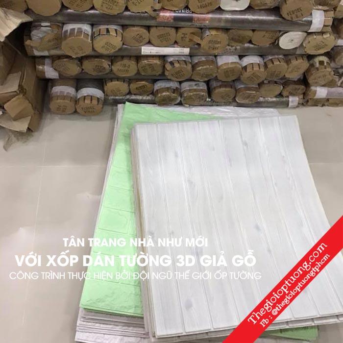 Xốp dán tường có bền không ? Xốp dán tường xài được bao lâu ?