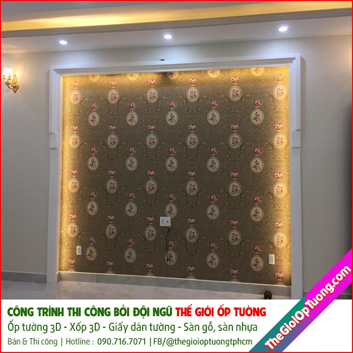 Giấy dán tường 3d tphcm | Tổng kho giấy dán tường rẻ đẹp