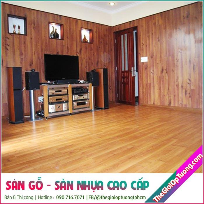 Thi công nội thất gỗ công nghiệp cho nhà ở, công trình giá tốt