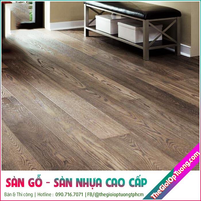 Thi công sàn gỗ giá rẻ cho nhà, cửa hàng, quán ăn, phòng tập