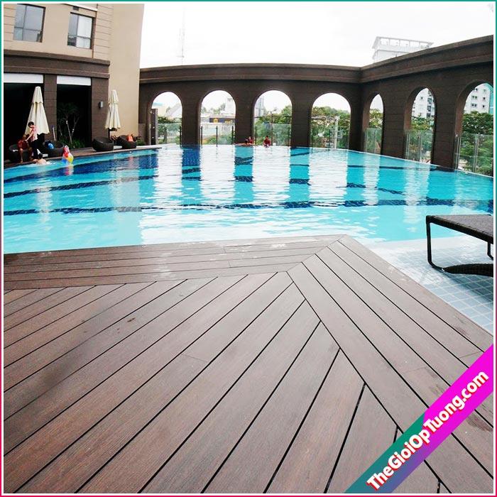 Sàn gỗ nhựa composite | Vật liệu trang trí nhà đẹp hiện đại