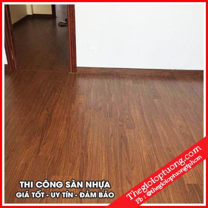 Sàn nhựa Hàn Quốc JFLOR - Sàn nhựa giá rẻ bền đẹp
