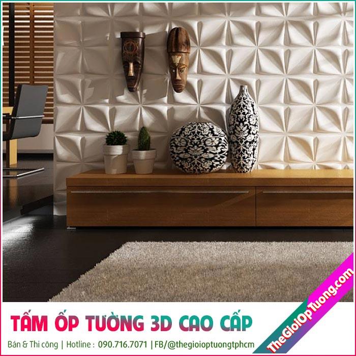 Tấm ốp tường 3d PVC và Xốp dán tường 3D loại nào tốt hơn?