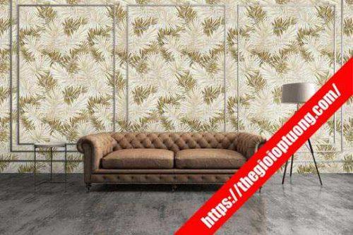 Cửa hàng giấy dán tường rẻ đẹp Tiền Giang - Xốp dán tường gạch