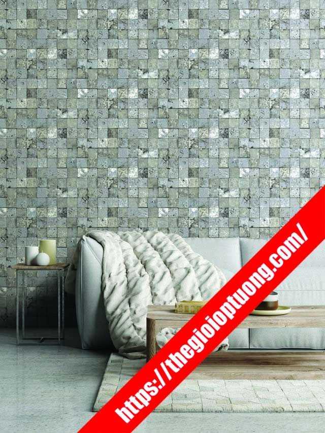 Cửa hàng giấy dán tường rẻ đẹp Trà Vinh - Xốp dán tường gạch