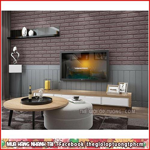 Tổng hợp mẫu Xốp dán tường, Tấm ốp 3D trang trí đẹp nhất