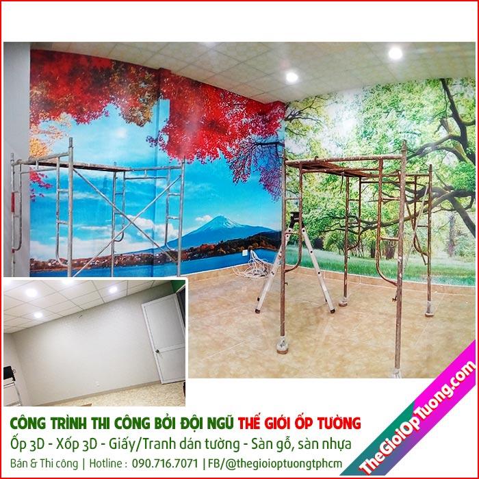 Có nên dùng tranh dán tường không? Tranh dán tường có bền không?