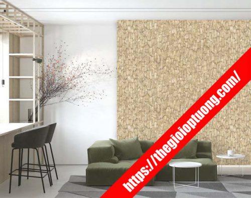 Shop bán giấy dán tường 3d , ốp tường giả gạch Nhà Bè