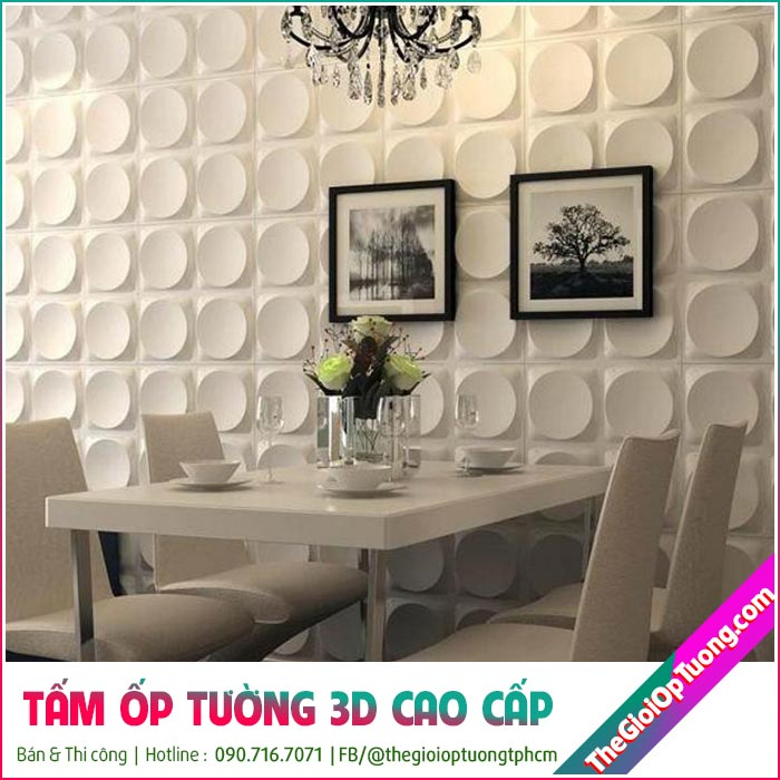 Tấm ốp tường 3D nổi cao cấp - Ốp tường da, nhựa PVC Giá Sỉ, Ốp tường 3d phòng khách đẹp, mẫu ốp tường PVC cao cấp