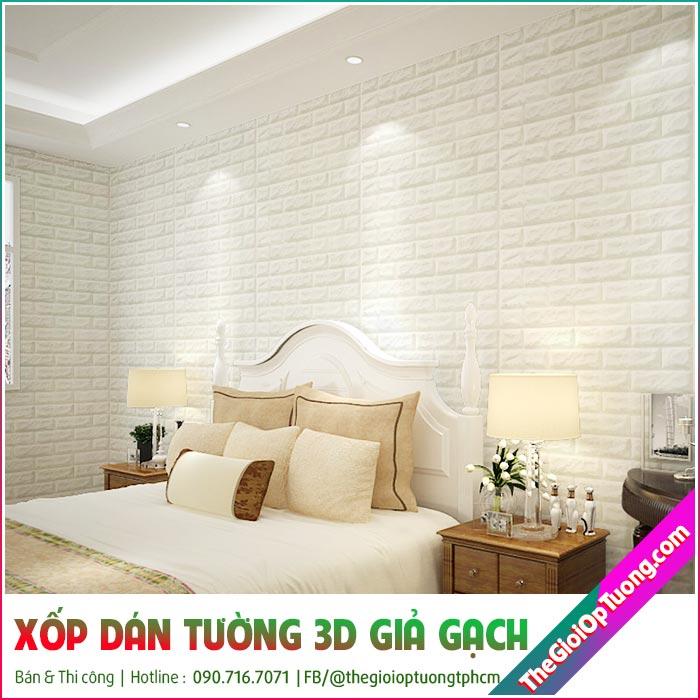 Địa chỉ bán giấy xốp dán tường 3d Kiên Giang cách âm cách nhiệt