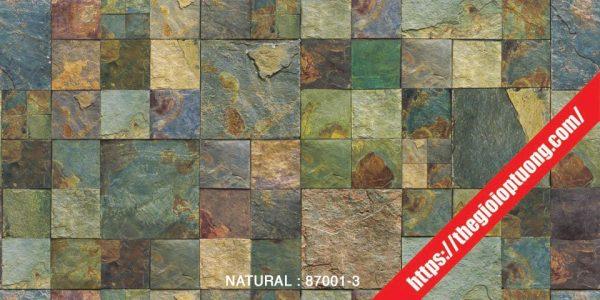 Giấy dán tường giả gạch - đá - gỗ [NATURAL 87001-3]