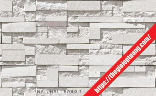 Giấy dán tường giả gạch - đá - gỗ [NATURAL 87003-3]