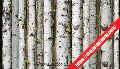 Giấy dán tường giả gạch - đá - gỗ [NATURAL 87009]