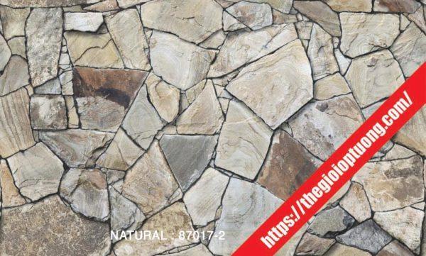 Giấy dán tường giả gạch - đá - gỗ [NATURAL 87017]