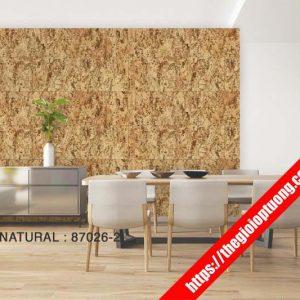 Giấy dán tường giả gạch - đá - gỗ [NATURAL 87026]
