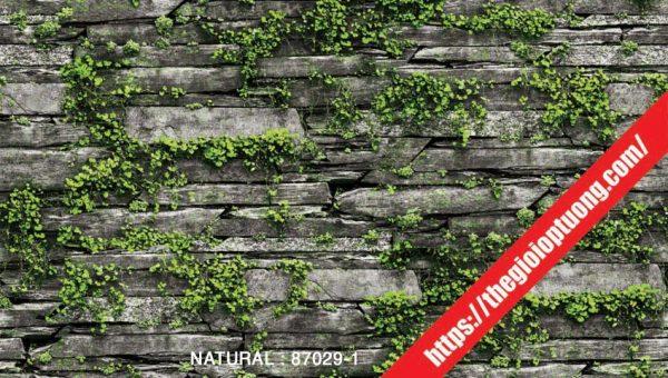 Giấy dán tường giả gạch - đá - gỗ [NATURAL 87029]