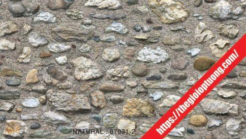 Giấy dán tường giả gạch - đá - gỗ [NATURAL 87031]