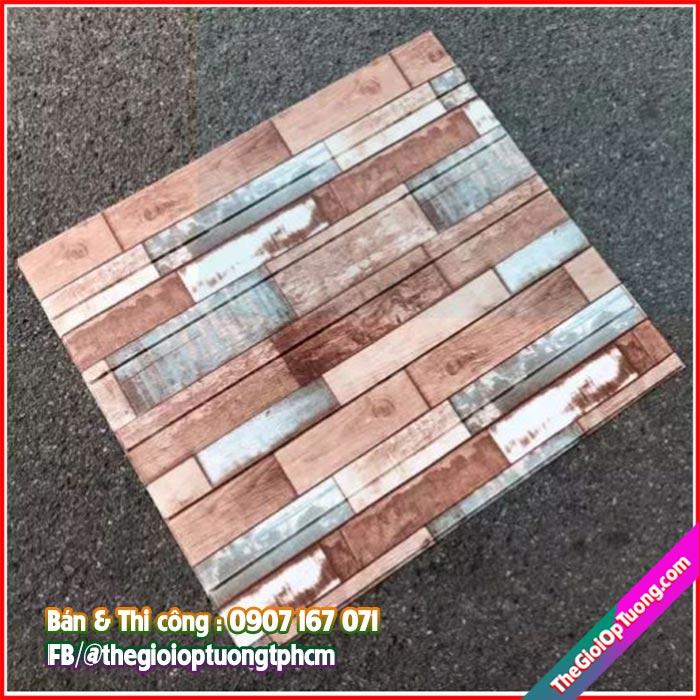 Tấm xốp dán tường giả gạch giả gỗ vintage Giá sỉ tại kho, cam kết chất lượng