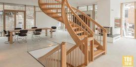 7 mẫu cầu thang gỗ hiện đại cực đẹp mắt