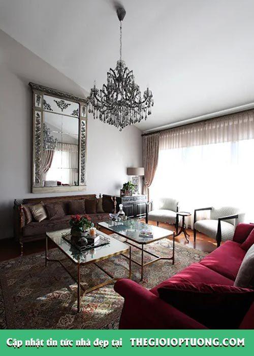 7 mẫu gương độc đáo dành cho từng không gian nhà ở