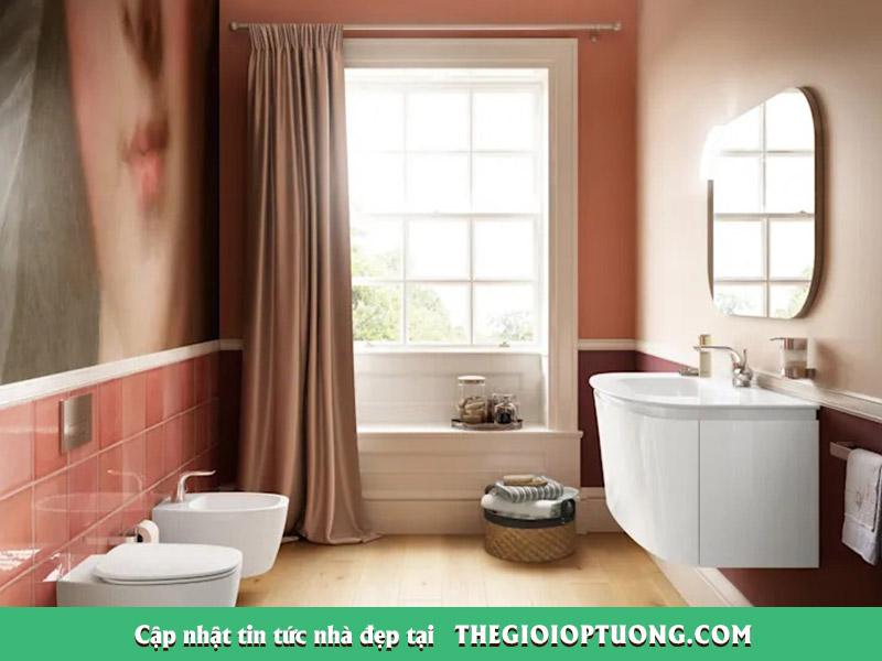 7 thiết kế phòng tắm đầy sắc màu ai nhìn cũng mê