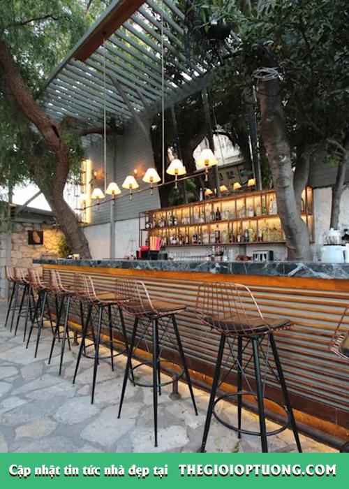 Cách thiết kế quán cafe sân vườn mà ai cũng muốn đến