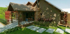 Mẫu thiết kế nhà vườn xanh đẹp lung linh làm nơi thư giãn