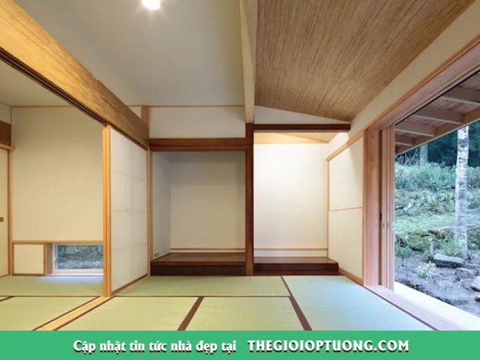 Nhà Nhật 2 tầng yên bình và mộc mạc đến ngỡ ngàng