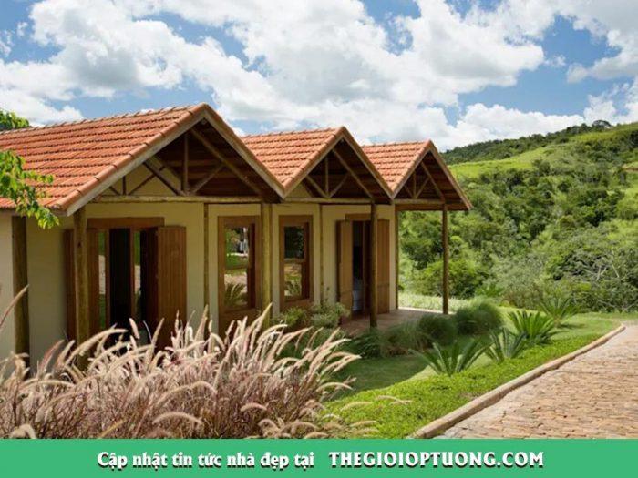 Thiết kế nhà ở như homestay đẹp mộc mạc giữa thành thị