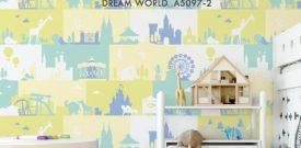 Mua giấy dán tường em bé xinh xắn, động vật, hoạt hình...