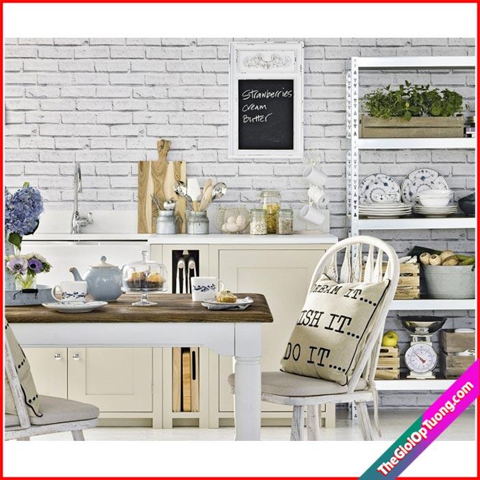 Thi công nội thất giá rẻ bình dương - Xốp giấy dán tường 3d