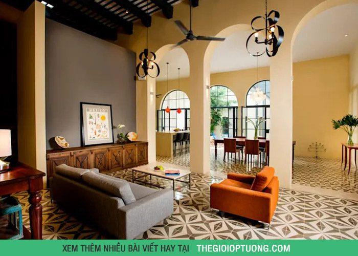 Màu sắc là yếu tố đòi hỏi sự cân bằng giữa sở thích và thẩm mỹ, giúp phòng khách có dấu ấn riêng nhưng vẫn hài hòa với không gian chung.