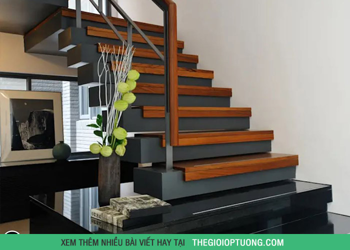 10 mẫu cầu thang đẹp nhất cho nhà ở khang trang
