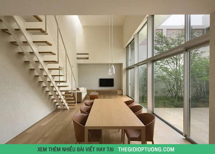 10 mẫu cầu thang tiết kiệm không gian cho nhà ở