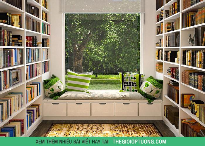 5 thiết kế góc đọc sách ai nhìn cũng thích mê