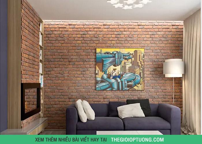 5 vật liệu ốp tường nhà ở phù hợp từng khu vực